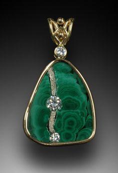malachite pendant  Simply Unique Jewelry #necklace #rings #gold| http://bracelet.lemoncoin.org
