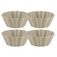 Set de 4 petits bols gris ∅ 10,5 cm Ariadne At Home