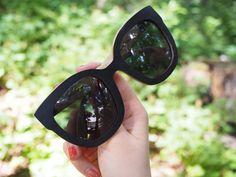 Puiset aurinkolasit testissä - ekologisempi Shadeshares Ethical Fashion, Cat Eye Sunglasses, Eyes, Kenya, Sustainable Fashion
