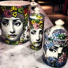 Some NEW Forasetti in our Home & Gifts section! #Fornasetti #Flora #Candles