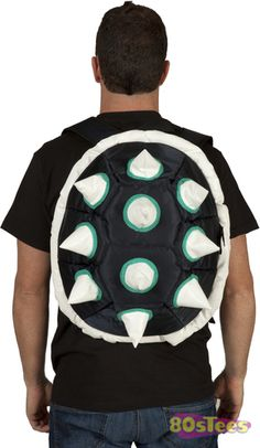 This Spiked Shell Backpack is inspired by the shell on the back of King  Bowser Koopa e8acd1e0ca94f
