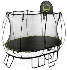 8-ft. Trampoline with Enclosure | Canadian Tire | Summer Fun ...