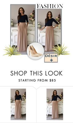 """""""DesirVale 14"""" by ramiza-rotic ❤ liked on Polyvore featuring PLANT and Gianvito Rossi"""