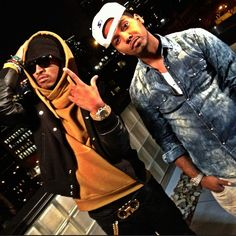 d6ff0492279 Check out the homies Future and Juelz Santana as they get turnt up on the  rooftop for