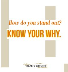 """How do you stand out? KNOW YOUR WHY.""  #quote #motivation #inspiration"