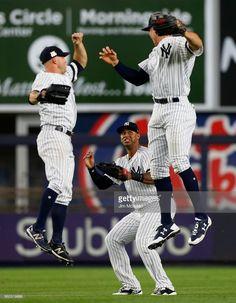 2146bde11 MLB Nike New York Yankees #31 Aaron Hicks Gray RBI Pullover Hoodie