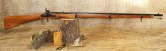 Enfield 1853 Tower 3 Band Rifle (frühes, erstes Enfield Modell) mit Perkussionsschloss. Sehr schöne original Nachbildung. Für Sammler, mit Beschuss für den Schießsport oder zum Böllern oder als Dekowaffe von Artax Vorderlader Germany