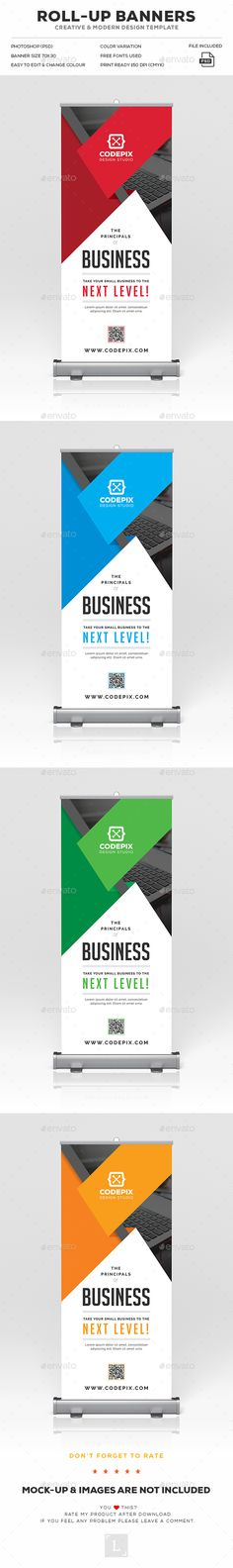 Design 51 by pahliippat create a modern letterhead for insurance corporate roll up banner spiritdancerdesigns Image collections