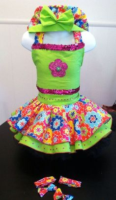 NATIONAL PAGEANT DRESS OOC PAGEANT CASUAL WEAR  3-5T #Handmade #DressyEverydayHoliday