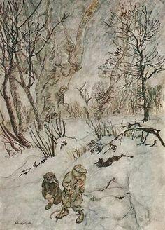 Arthur Rackham - Wind in the Willows