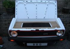 MAke an unique BBQ out of this Volkswagen - Froot.nl