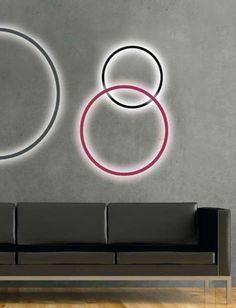 LED aluminium wall lamp