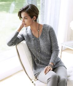 Gray Matters. It's official−gray is the color of the season. Wear it head to toe.