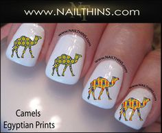 Camel Nail Decals