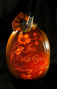 Pumpkin Carving Ideas For Proposing And Planning A Fall Proposal Once You Have The Perfect Engagement Ring Rings Proposals