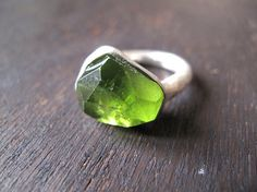 "Oh YUM!  peridot ring by ""masaoms"""
