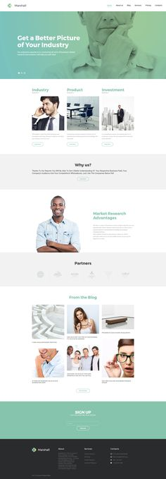 Moto CMS 3 Theme , Business Analysis and Market Research Agency
