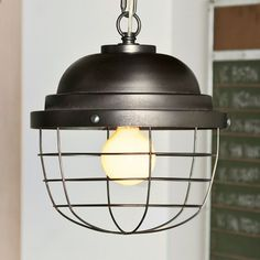 Davis likes this light fixture Industrial Cage Pendant Ceiling Light Fixtures, Pendant Light Fixtures, Ceiling Lights, Cage Pendant Light, Chandelier Pendant Lights, Chandeliers, Contemporary Light Fixtures, Rustic Kitchen Decor, Pottery Barn Teen