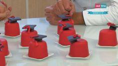 La ricetta delle minicakes di laurea (al ribes) di Renato Ardovino del 5 dicembre 2013 - Torte in corso con Renato