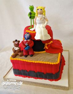 Muppets Birthday Cake by A Little Imagination Cakes