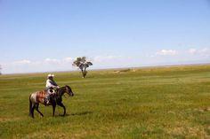 Cam Schryver during horsemanship clinic at Zapata Ranch, Colorado. #ZapataRanch