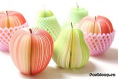Looks like paper, but this is fruits..