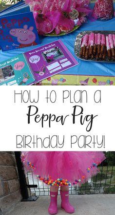 Peppa Pig birthday party                                                       …
