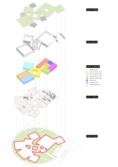Kindergarten by Emile Dervishov, via Behance