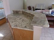 Granites and marble stones continue to be the leading options for designing the kitchen countertops.