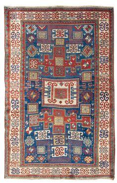 Tappeto caucasico Kasak Karachop  fine XIX secolo from cambi casa d'este