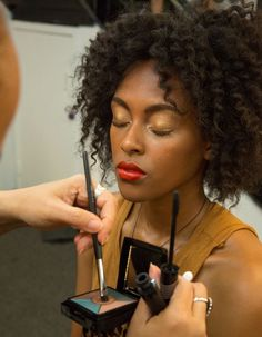 """Episode 1: A red lip can be the ultimate style accessory... and we're loving this #ProjectRunway lip look. Try using the classic Mary Kay® Creme Lipstick in """"Really Red"""" for runway-worthy lip color of your own! Facebook/Ilumina tu Belleza con Mary Kay"""