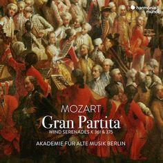 Mozart Gran Partita Akademie Fur Alte Musik Berlin Album