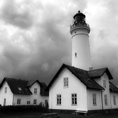 Hirtshals Lighthouse on the west coast of Jutland, Denmark Beacon Lighting, Beacon Of Light, Old Buildings, Abandoned Buildings, Water Tower, Dream Vacations, Where To Go, West Coast, Places To Visit