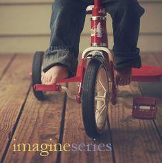 Love this shot for kids that LOVE their bikes!