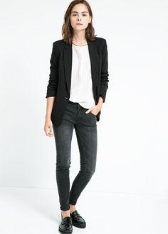 Essential blazer - Jackets for Women | MANGO