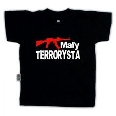 Koszulka dziecięca - mały terrorysta z FamilyInBlack.pl