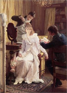 Franz Xaver Simm: Preparing for the ball
