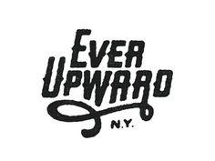 Dribbble Ever Upward by Dan Cassaro in Logo