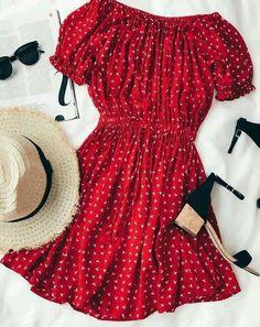 Сеты с красным платьем. 5