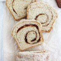 Eggnog Cinnamon Swirl Bread | Girl Versus Dough