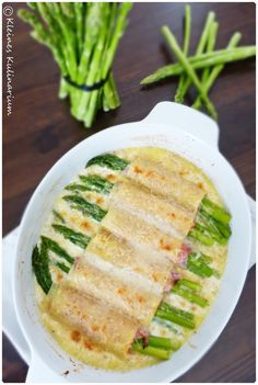 Spargel Cannelloni Asparagus time is the best time. And with this dish of pasta, ham and asparagus, Healthy Casserole Recipes, Healthy Dinner Recipes, Pasta Recipes, Soup Recipes, Vegetarian Recipes, Cooking Recipes, Healthy Breakfast For Kids, Good Food, Yummy Food