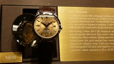 WatchFacts was at Baselworld 2014! Check out this Patek Philippe 5496 - Platinum