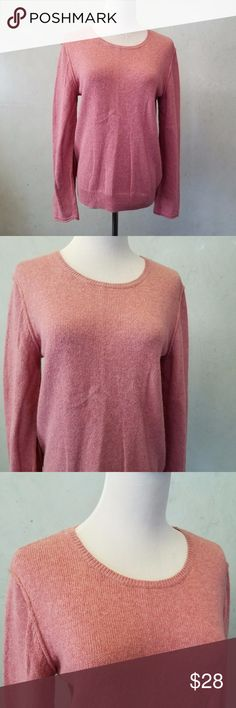 pink cotton blend sweater in perfect condition  pinkish cotton blend sweater. 37% cotton 30%polamide 26% viscose 7% wool H&M Sweaters Crew & Scoop Necks