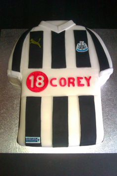 Image result for newcastle football shirt cake
