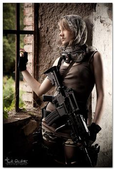 Chicks with guns are sexy! - http://www.RGrips.com