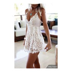 See this and similar rompers - In summer, you should buy at least one piece this sexy playsuit. Don't miss this white sleeveless playsuit. It is designed with s...