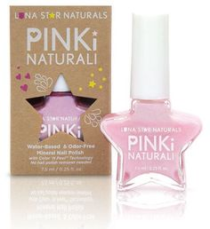 Luna Stars Natural is one of our favorite non toxic nail polishes. In shades of pink that are right on trend with Pantone colors.
