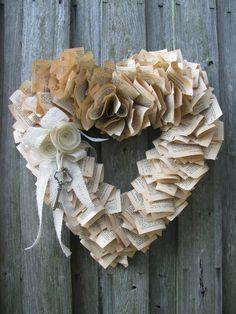 Key to my Heart Wreath....