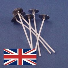 Waxed Wicks for Container Candles 40mm diameter x 10 PCW5