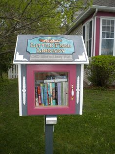 Little Free Libraries - American Profile